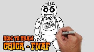 How to Draw Chica- Five Nights at Freddy's- Video Lesson(Join the Club! SUBSCRIBE Today! New Lessons Monday to Friday. https://www.youtube.com/user/cartooning4kids By SUBSCRIBING you become an official ..., 2015-03-03T08:27:05.000Z)