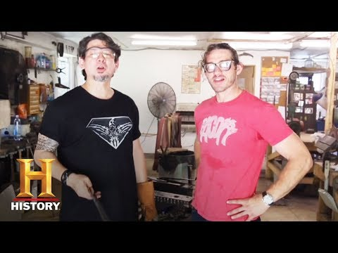 Forged in Fire: J. Neilson Teaches Wil and Doug to Forge  (S