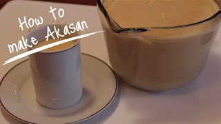 Haitian Recipes: Haitian Cornmeal Drink   Akasan