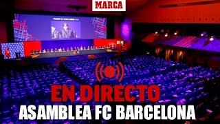 Asamblea de Socios Compromisarios del FC Barcelona, en directo   MARCA