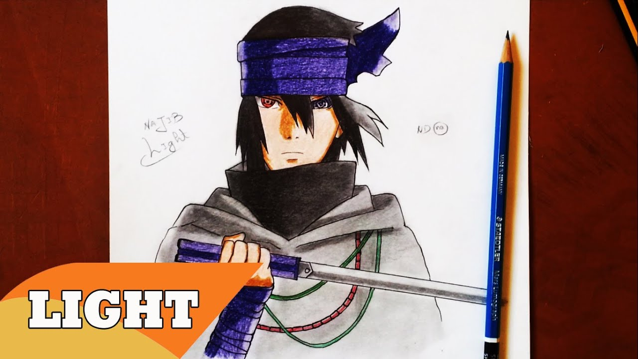 How To Draw Sasuke The Last - Naruto The Movie /サスケの最後の描き方 ...