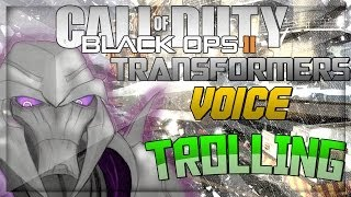 Transformers Voice Trolling on Black Ops 2