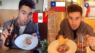 Comida PERUANA 🇵🇪 vs CHILENA 🇨🇱