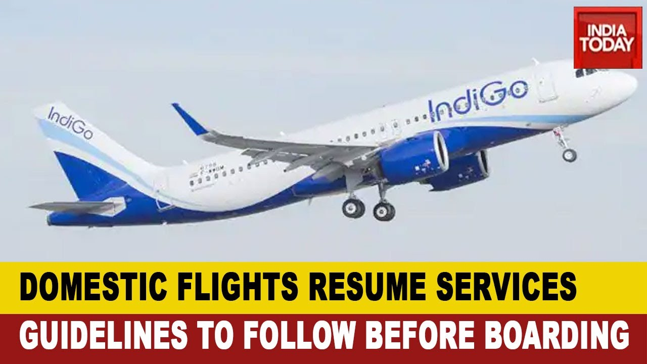 Domestic Flight Have Resumed Services Masks And Gloves Are Mandatory Youtube