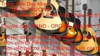Day Piano Organ Guitar Gò Vấp Thầy TRƯỜNG 01675575377