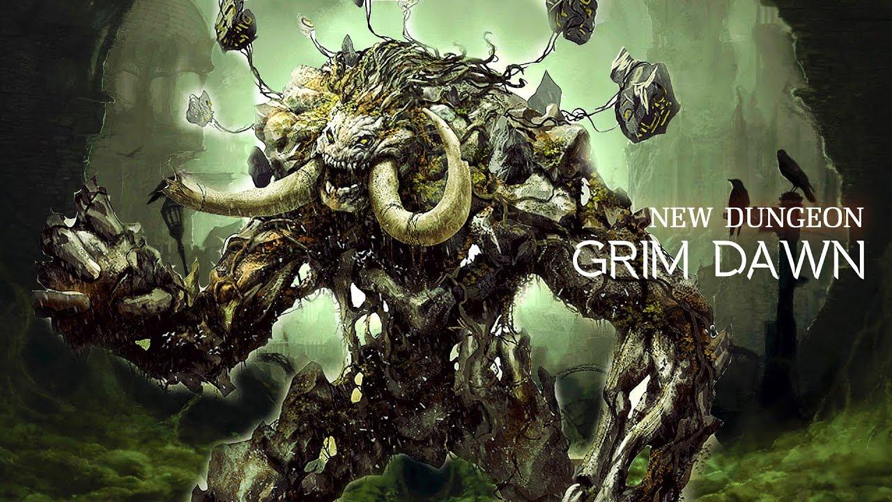 Grim Dawn 1 0 5 0 : Ancient Groove New Dungeon boss: Gargabol vs Commando :  Tank Testing Build