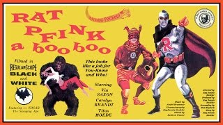 Rat Pfink a Boo Boo (1966) Trailer - B&W / 0:57 mins