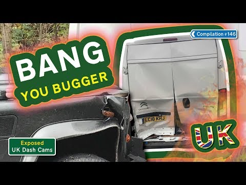 Poor Drivers, Road Rage + Crash Compilation #146 - Exposed: UK Dash Cams