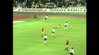 Fußball Länderspiel BRD   UdSSR Eröffnung Olympiastadion München 26 05 1972