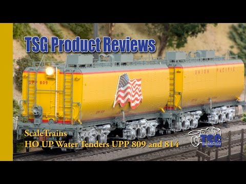 HO Scale DCC Union Pacific Excursion Tenders Scale Trains Product Review