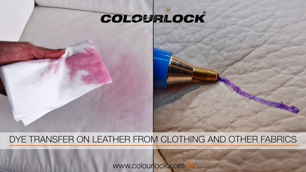 How To Remove Dye Transfer Ink Biro