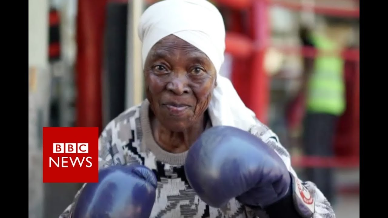 South Africas Boxing Grannies - Bbc News - Youtube