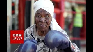 South Africa's boxing grannies - BBC News