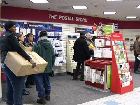 Post Offices Slammed On Busiest Mailing Day