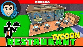 Roblox Restaurant Tycoon Outdoor Seating added to our Restaurant In Roblox!