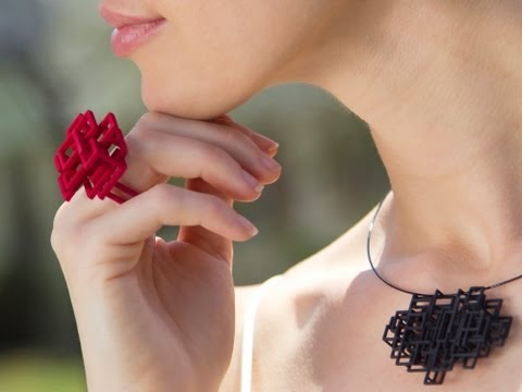 Melissa Borrell - 3D Printed Jewelry