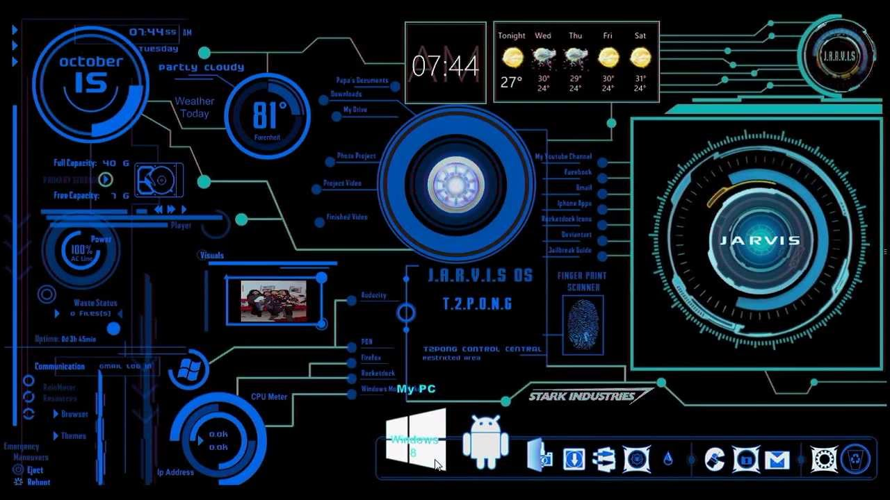 List of synonyms and antonyms of the word rainmeter jarvis ironman jarvis theme desktop by scrollsofaryavart on deviantart publicscrutiny Gallery