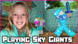 Playing Sky Giants / Minecraft Minigames on Hive