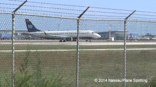 US Airways Express E170 takeoff to Reagan National (with ATC) | Airplane video