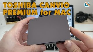 Toshiba Canvio Premium for Mac USB 3.0 Portable Hard Drive Speed Test & Review