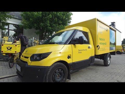 Deutsche Post StreetScooter WORK L Electric Delivery Van