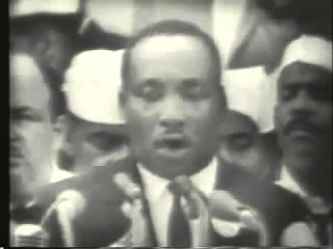 Martin Luther King Jr I Have A Dream Speech Youtube