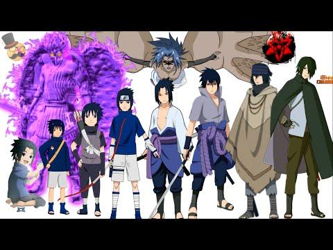 naruto-characters:-uchiha-sasuke's-evolution