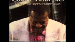 Oscar Peterson - Who can I turn to