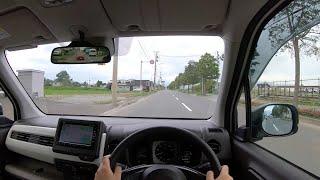 【Test Drive】 2019 New Honda N-WGN Honda Sensing 660cc 4WD - POV Drive