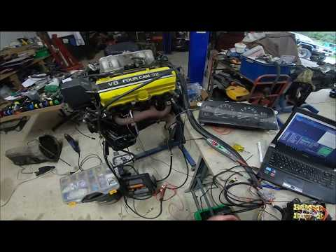 Link Storm to Lexus V8 1uz and ECU hold power