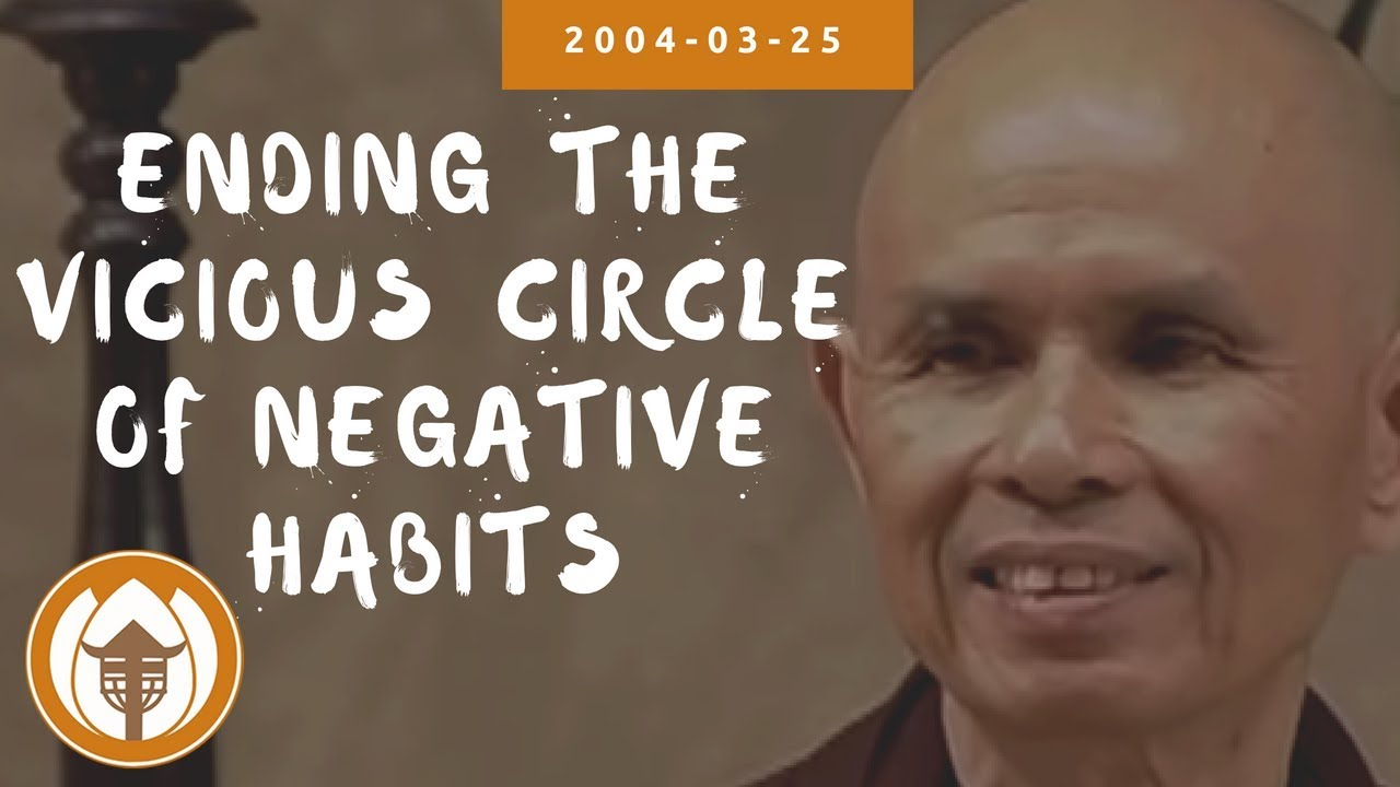 Download Ending the Vicious Circle of Negative Habits | Dharma Talk by Thich Nhat Hanh, 2004.03.25