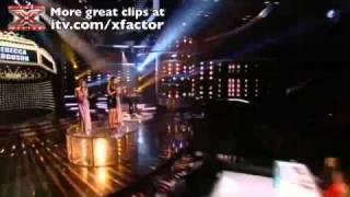 Rebecca Ferguson Sings Satisfaction - The X Factor Live Show 8 Rock Night Rebecca Ferguson