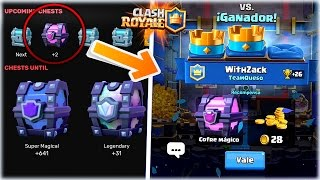 THE ENTIRE CHESTS CONFIRMED |!! THE BEST WEB AND THE RETURN OF... -Clash Royale [WithZack]