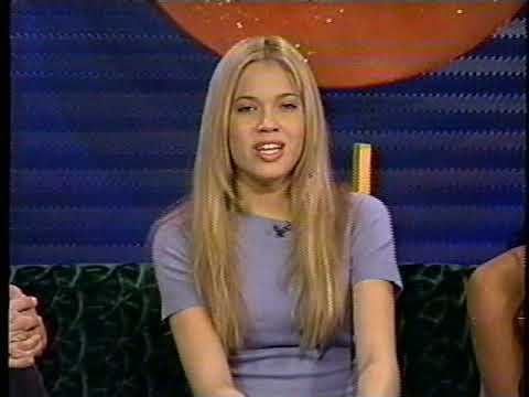Mandy Moore on MTV TV game show 1998