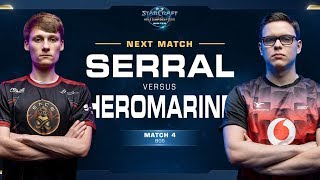 Serral vs HeroMarine ZvT - Match 4 Finals - WCS Winter Europe