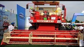 Preet tractors and Combine New Launch 987 Harvester।