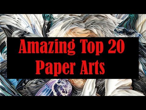 Amazing paper art by artist - TOP 20 LATEST PAPER ARTS YOU WILL LOVE TO WATCH IT
