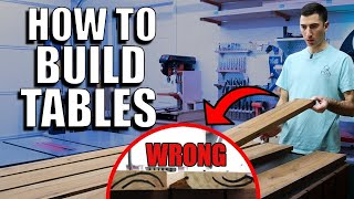 How to Build A Taḃle - FIXING BIG MISTAKES