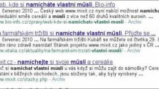 Mixit.cz - hledání zrní