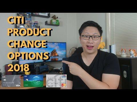 Best Citi Downgrade Options 2018