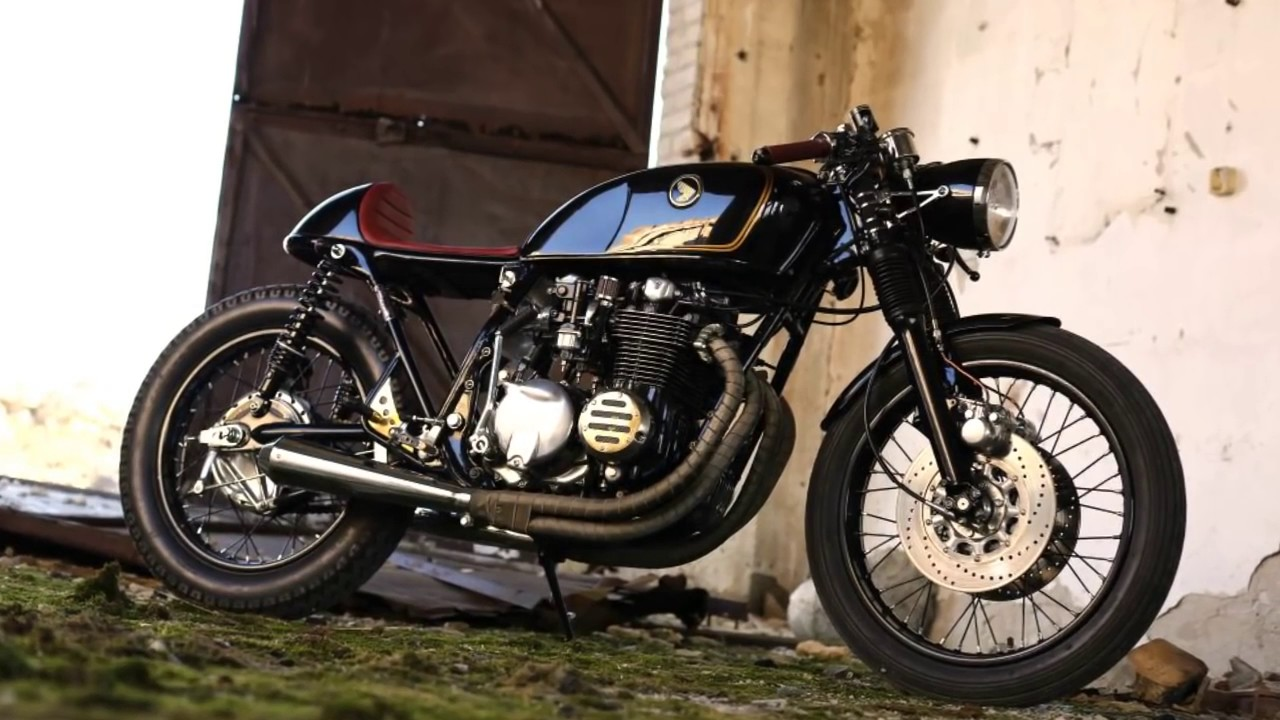 cafe racer suzuki gs 750, honda cb 550 and cx 500eastern