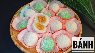 Cách làm Bánh Bao Chỉ đơn giản thơm ngon ( VietNamese mochi )