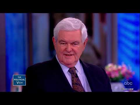 Newt Gingrich on Rising Hate Crimes | The View