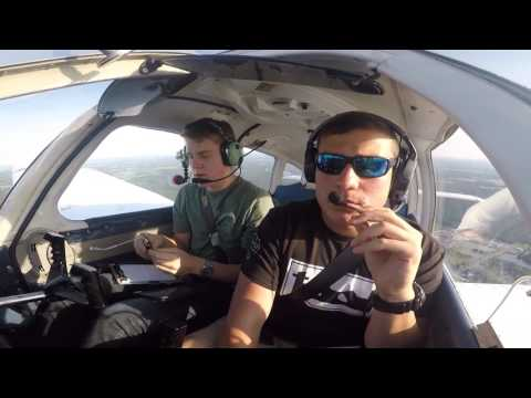 Piper Warrior | Practice VOR and LOC Approaches | Ocean City, MD