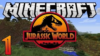 Minecraft: Jurassic World - Ep. 1 - Where s The Iron?! (Rexxit Modpack)