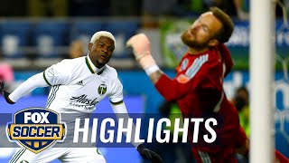 90 in 90: Seattle Sounders vs Portland Timbers   2018 Audi MLS Cup Playoffs