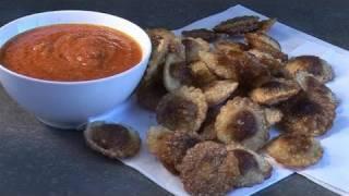 How To Cook A Crisp Fried Mushroom Ravioli