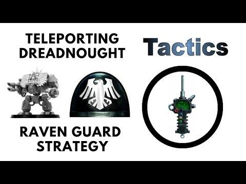 Raven Guard Dreadnought Teleportation Strategy! - Space Marine Shadowstep Tactics