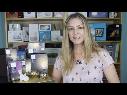 Philips Hue Bluetooth lights blogger review