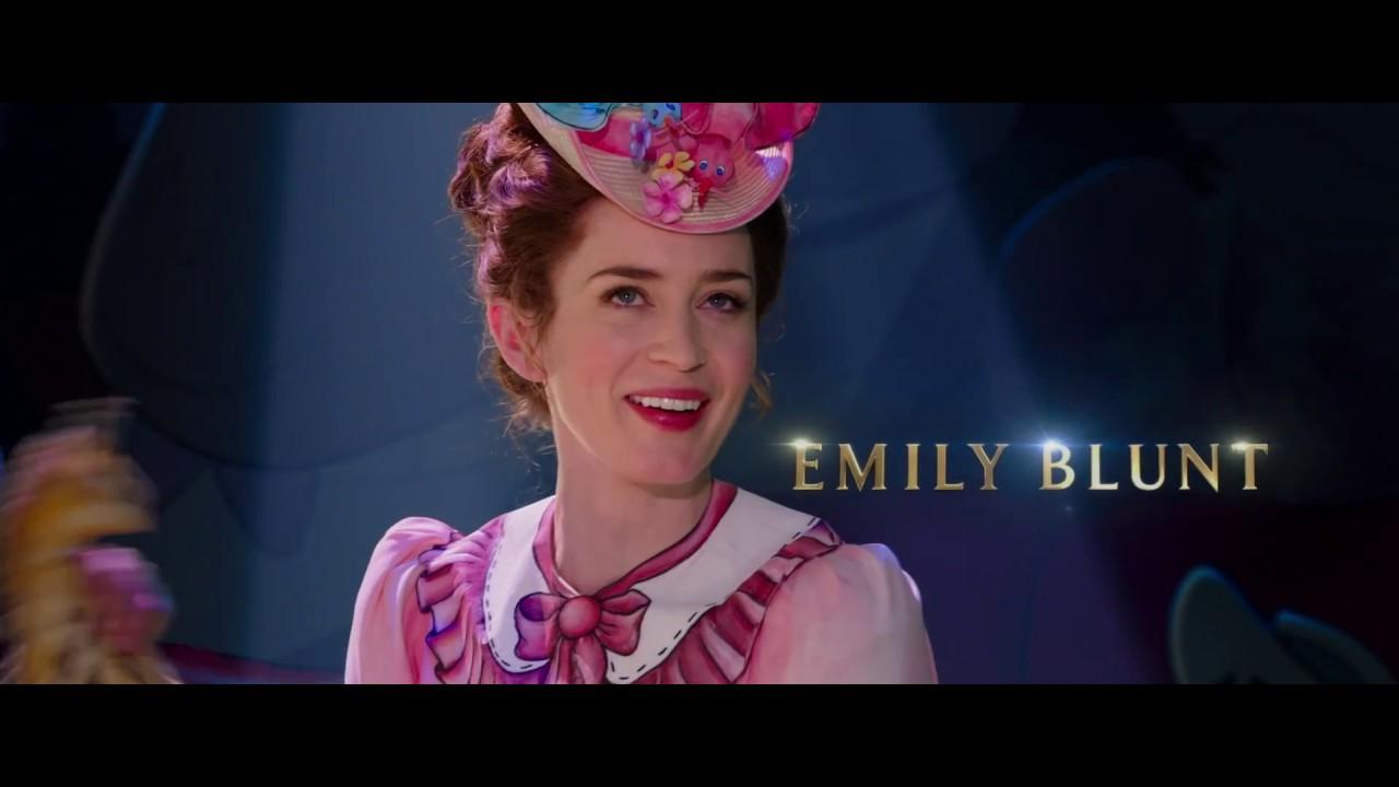 Il ritorno di mary poppins trailer italiano ufficiale hd youtube